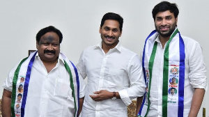 Another blow to TDP as party's youth wing President joins YSRCP