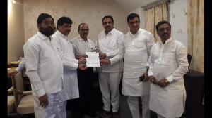 NCP-Congress and Sena claim majority, submit a letter to Raj Bhavan