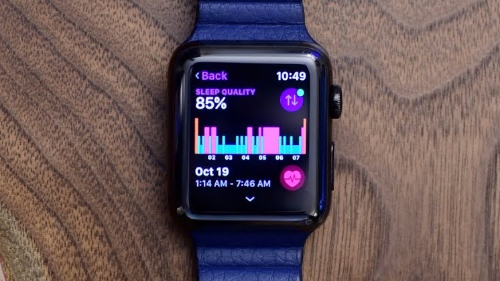 Apple Watch sleep tracking reportedly coming next week