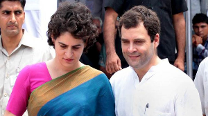 Priyanka to be Rahul's successor?