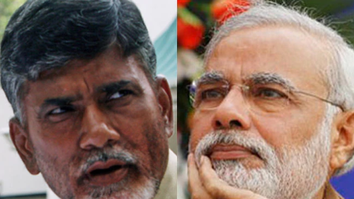 """Jealous Modi behind KCR's Federal Front"", says  Naidu"