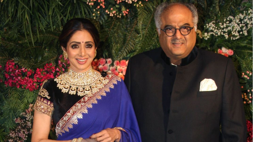 Boney Kapoor makes Sridevi's dream come true.