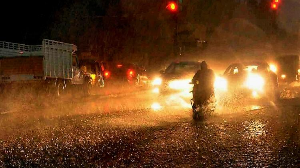 Thunderstorm hits parts of Hyderabad, city sees water logging and power cuts