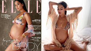 Lisa Haydon on ELLE cover