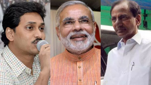 KCR to attend back to back ceremonies of Jagan and Modi