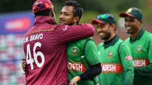Gritty Shakib hands Bangladesh a record victory!