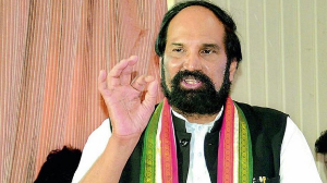 Uttam Kumar Reddy lashes out at TRS