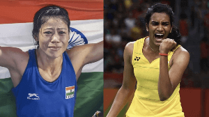 MC Mary Kom, PV Sindhu recommended for Padma awards