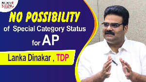 Lanka Dinakar of TDP on special category status