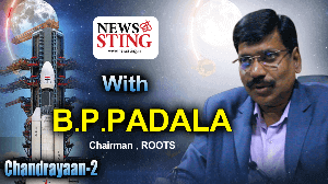 NewsSting With B.P Padala on Chandrayaan2