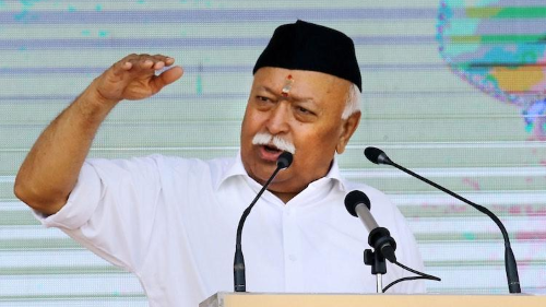 'Lynching a western idea', 'economy is perfect', says RSS Chief