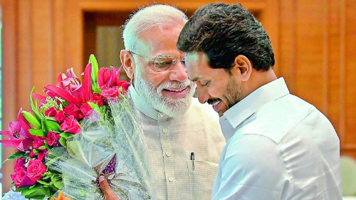 Jagan planning to invite Modi