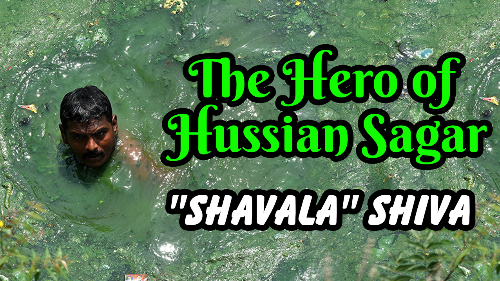 Meet Shiva- The Hero of Hussain Sagar!