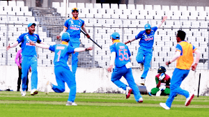 Under 19 Asia Cup final: India beat Bangladesh in a thriller