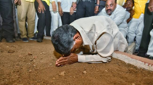 'Jagan killing the capital,' Naidu observes after 'Chalo Amaravati'