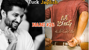 #Nani26 is Tuck Jagadish, poster is released