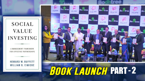 'Social Value Investing' Book Launch Part 02
