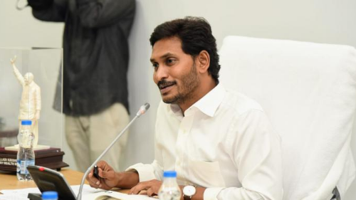 Andhra Pradesh's CM Jagan Mohan Reddy fulfilling a poll promise