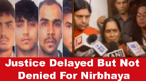 Justice Delayed But Not Denied For Nirbhaya case