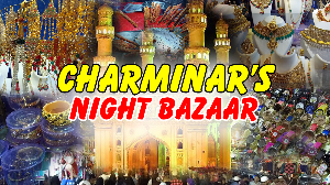 A Walk around Charminar  in Ramzan