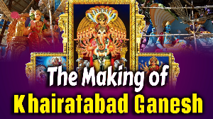 The making of Khairatabad Ganesh- 2019