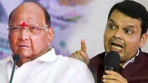 'We don't wrestle with kids,' Pawar hits back at CM