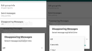 Whatsapp working on 'disappearing messages' feature for future update