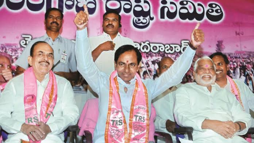 KCR's new strategy for civic polls?