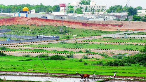 NewsSting - Record registered in land registration as Telangana