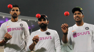 Bangladesh win the toss, elect to bat in the historic Pink ball test